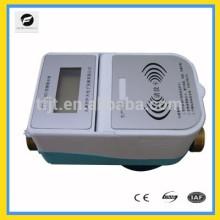 Mètre de contrôle prépayé par 3.6V RFID pour l'eau chaude et l'eau froide avec la carte d'IC