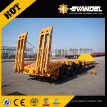 3 цапф низкий кровати трейлер тележки с Фува мост 60 тонн