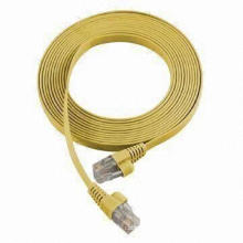 UTP CAT6 Flat Patch Cord / Wire hacer en China
