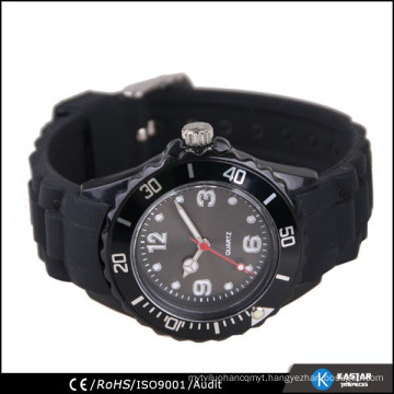 silicone watches own logo, wrist watch silicone