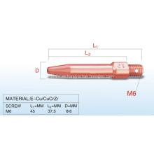 TOKINARC Tapering Tip de contacto de 1,2 mm