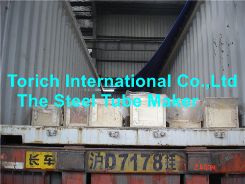 Cold Drawn Welded Tubes Container Loading