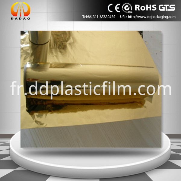 pet golden metallized film(44)