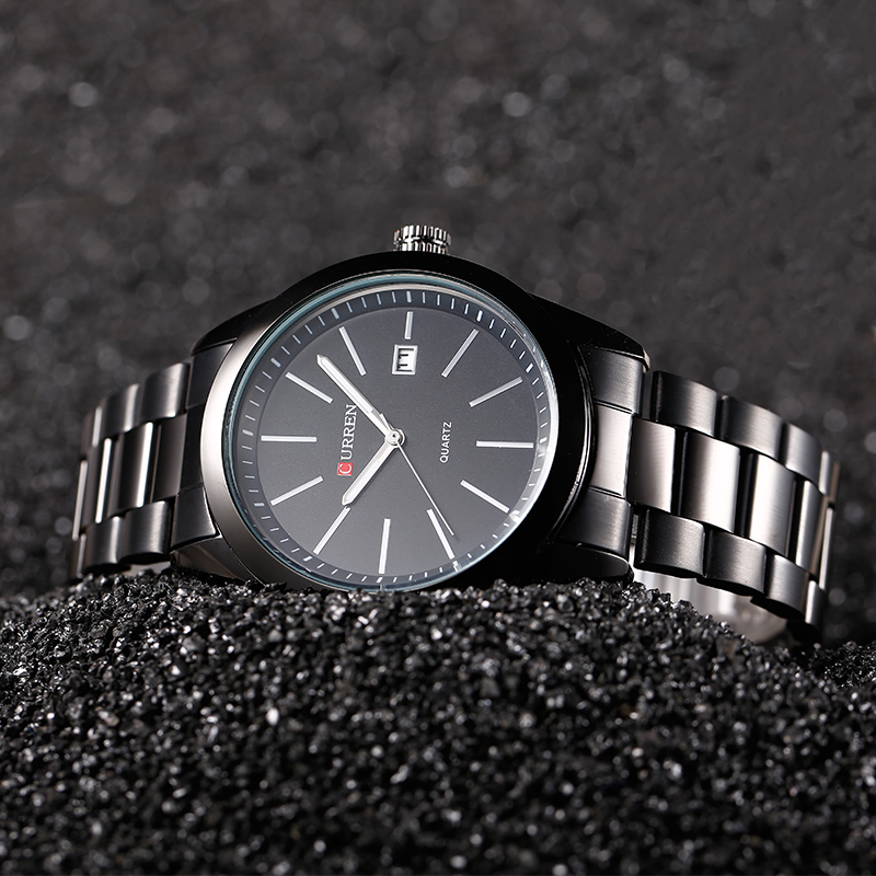 Curren Casual Business Quartz Stainless Steel Watch