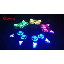 Bunte LED blinkende Großhandelskopfhörer-Katzen-Ohr-Kopfhörer
