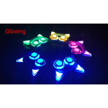 Wholesale Colorful LED Flashing Earphones Cat Ear Headphones
