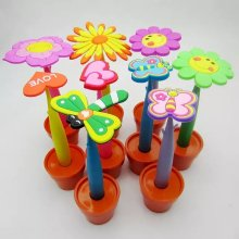 Promotional Flower Pen with Pot