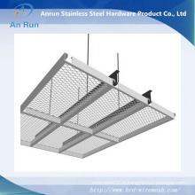 Maillot métallique en rangée pour plafond de salle