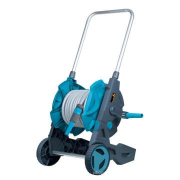 Chariot de support de bobine de tuyau de tuyau d'eau de jardin