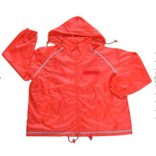Polyester Windbreaker Jacket with AC Coating