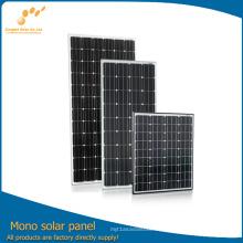 100% TUV Стандарт высокой эффективности моно панели солнечных батарей модуль