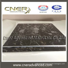 High quality square carbon fibre laminated sheet of 8mm thickness