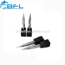 BFL CNC Carbide Flat Bottom V Shape Engraving Cutter Bit