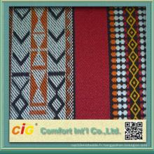 Tissu décoré en polyester Shzs04664