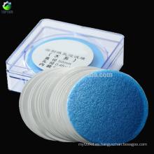Filtro de membrana PTFE, Diámetro 47 mm, Tamaño de poro 0.45 um, Paquete de 100