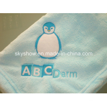 Manta del bebé muy suave Heathy cómodo Coral paño grueso y suave (SSB0131)