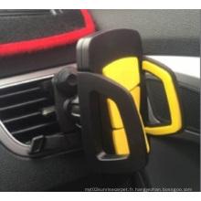 Support téléphonique mobile pour l'automobile avec ambiance d'apparence