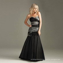 Fashion Black Wedding Dress