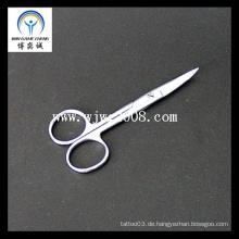 Akupunktur 12.5 Chirurgische Dressing Schere -Curved / Edelstahl Chirurgische Schere