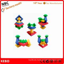 Plastic Pädagogische Blocks Spiele