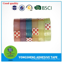 2015 hot selling colorful personalized BOPP stationery tape BOPP transparent tape