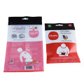 Durable Biodegradable Zip Lock Body Care Cosmetic Pouches