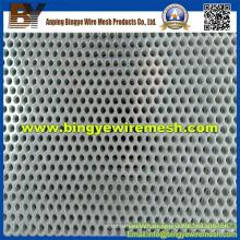 Metal perforado de acero inoxidable utilizado en
