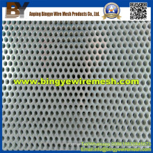 Metal perfurado de aço inoxidável usado em