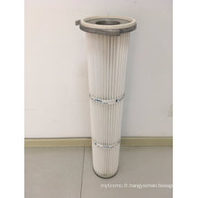 Cartouche de filtre à air de haute qualité d'impulsion de trois cosses