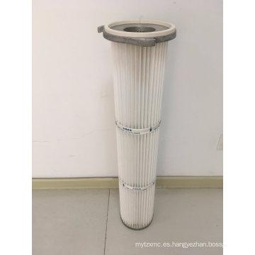 Cartucho de filtro de aire de alta presión con tres orificios Pulse Jet