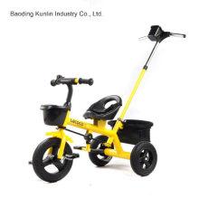 Triciclo del juguete con el remolque, triciclo del bebé de los niños, triciclo del niño