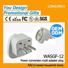 Hight productos de calidad socket múltiple con usb, ce rohs aprobado enchufes eléctricos alemán
