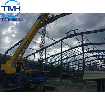 light steel structure plant /warehouse in Thailand
