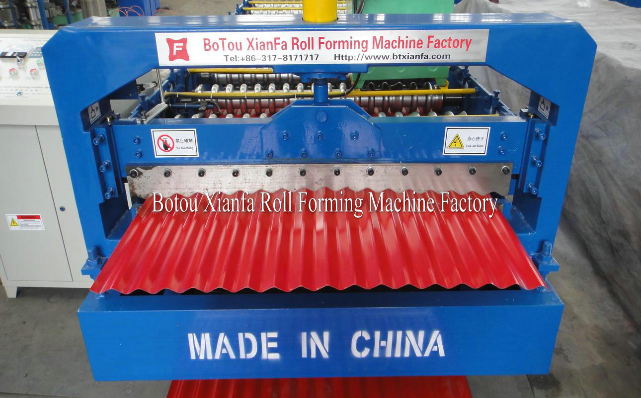 water wave metal sheet machines