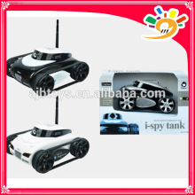 The APP-Controlled Wireless Spy Tank i-SPY Tank wifi with spy Camera 4-CH controlled by iPhone/iPad/iPod