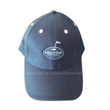Gorra de golf cepillada con correa ajustable