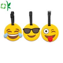 Tag popular da bagagem do PVC de Emoji para o curso