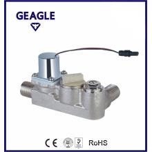 Bi-stable brass solenoid valve-90 dgree