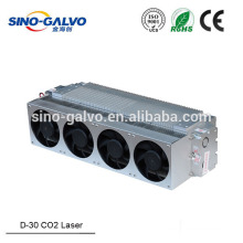 Metal rf laser co2 kit from Sino Galvo