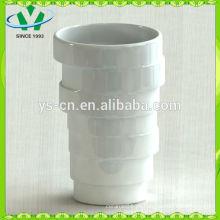 Heiße verkaufende chinesische weiße keramische Vasen wholesale
