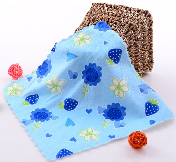 Floral Printed Baby Towels