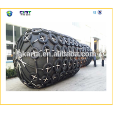 manufacturer supply boat marine rubber fender with Galvanized Chain