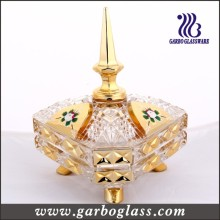 Golden Glass Candy Jar (GB1801R / DT)