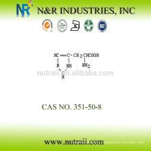 Proveedor confiable aminoácido D-Histidine 351-50-8