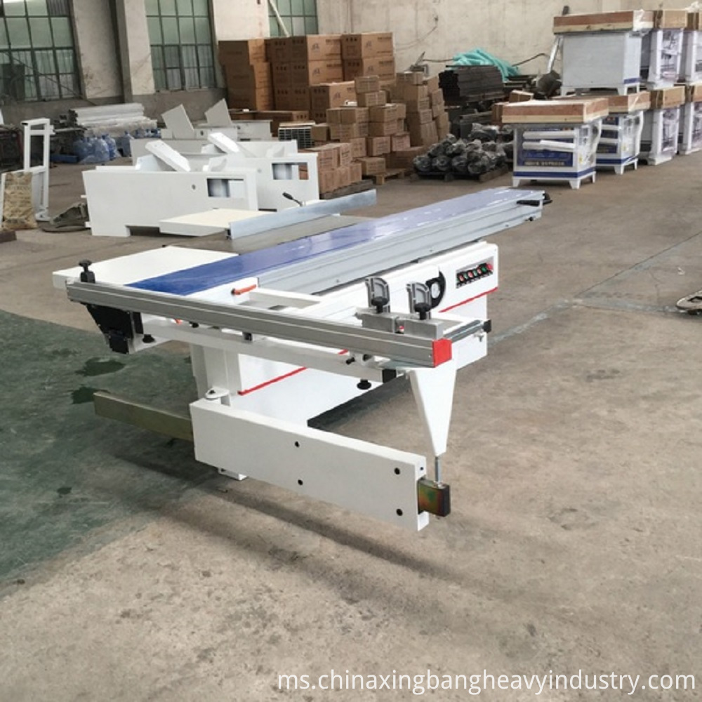 Woodworking sliding table saw machine