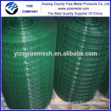 "wholesale 1/4""inch pvc coated wire mesh (dark green) & welded mesh for sale"