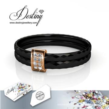 Destin bijoux cristaux de Swarovski Simple anneau