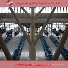 Galvanisierter Stahlrahmen Traversenstruktur Flughafen Dachdeckerbau