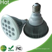 24W LED PAR38 lâmpada bulbo com habitação Aletado