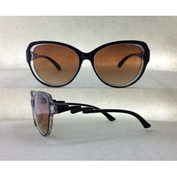 Nagelneue Entwerfer-Plastikart- und weisesonnenbrille für Frauen / Dame P25030